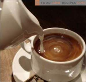 Coffee with milk: good or harm