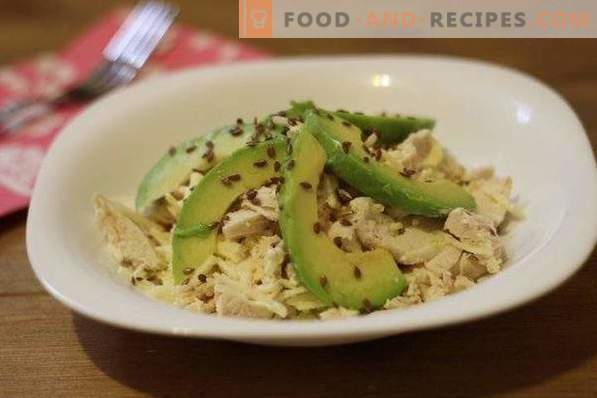 Avocado Salad with Chicken