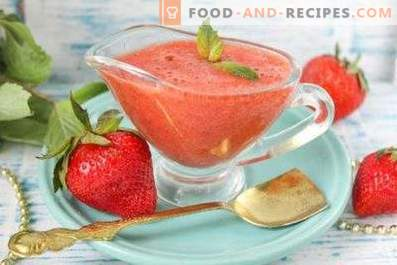 Strawberry Sauce for Meat