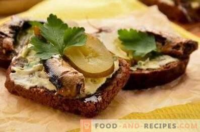 Sprats Sandwiches