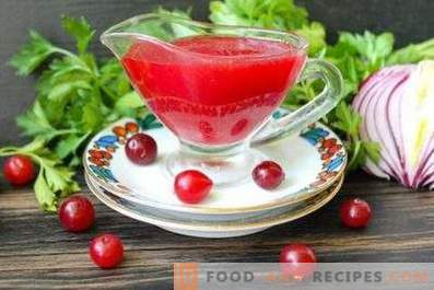 Cranberry Sauce for Meat