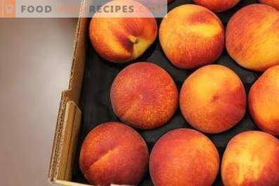 How to store peaches