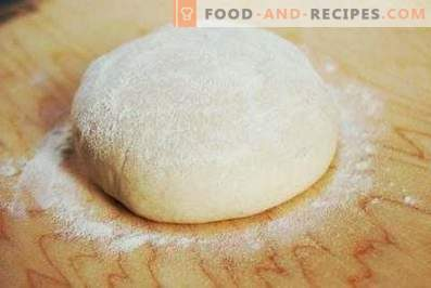 Pizza dough without eggs