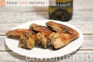Chicken Wings in White Wine