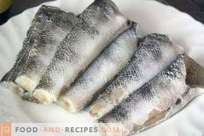 Fish Nototeniya: cooking recipes