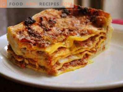 Lasagna in a multicooker