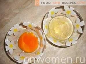 Melon and curd tart