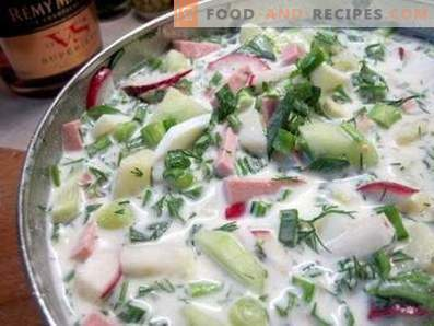 Okroshka on Ayran
