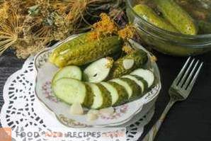 How to make salted cucumbers
