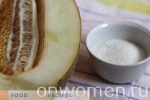 Melon jam for the winter