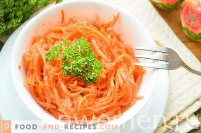 Korean style carrots.