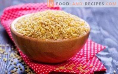 Bulgur: good and harm
