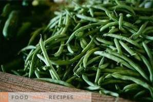 How to freeze string beans