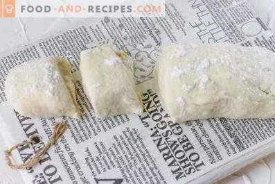 Dough for whites