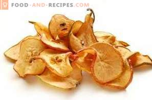 How to dry pears at home