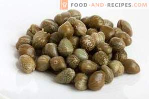 Capers - benefit and harm