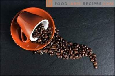 Coffee: cooking recipes