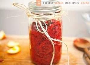 Cranberry Jam with Orange