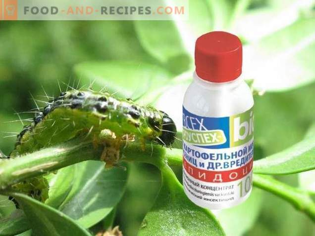 Lepidocide is an effective drug against leaf-eating pests