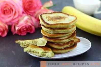 Banana Fritters on Kefir