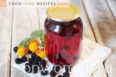 Blackberry Compote for Winter