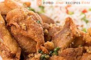 What seasonings are suitable for chicken