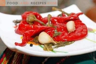Hot pepper in Armenian for the winter