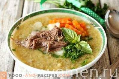 Red Lentil Soup with Meat