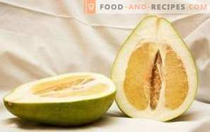 Pomelo: health benefits and harm