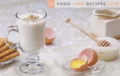 Russian desserts - do not change the traditions! Cooking Russian desserts: Guryev porridge, rice woman, eggnog, baked apples
