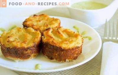 Potato dough with minced meat in the oven: casserole or pie? Cooking nourishing, simple and tasty potato grandmother with minced meat in the oven