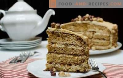 Golden Key cake - a delicate creamy taste! Making a cake