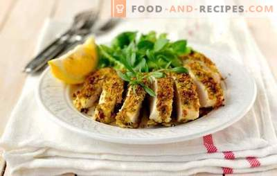 Chicken breast quickly and tasty - it is possible! Chicken breast recipes quickly and tasty in the oven, slow cooker, in the pan