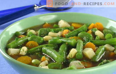 Green bean soup - a riot of colors and benefits in each plate. Original and proven recipes for soup from the pods of beans