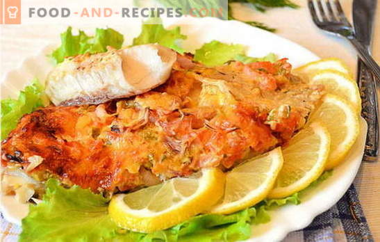 How to cook fish fillets in the oven is tasty and easy? A selection of recipes from fish fillet in the oven: with potatoes, in foil, originally
