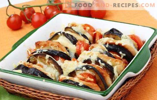 Vegetables with cheese - be sure to cook! Vegetables with cheese, baked in the oven with chicken, meat, mushrooms, rice