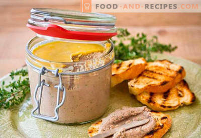 Homemade pate - the best recipes. How to properly and tasty cook homemade pate.