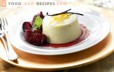 Dessert from sour cream - feel the joy of life! Recipes for desserts made from sour cream: jelly, souffle, mousses, cakes, creams and other goodies