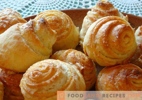 Sweet buns are the best recipes. How to properly and tasty cook sweet buns at home