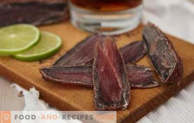 Beef basturma at home: the best recipes. How to cook basturma from beef at home
