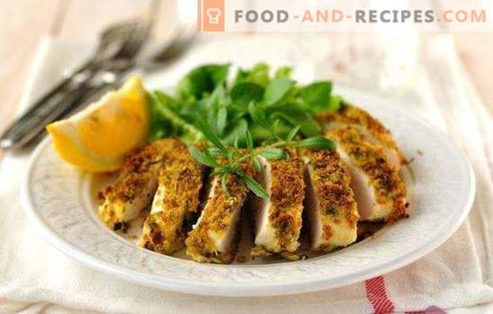 Chicken breast steamed in a slow cooker - no hassle! Steamed chicken breast recipe in a slow cooker, with vegetables, mushrooms, garnishes