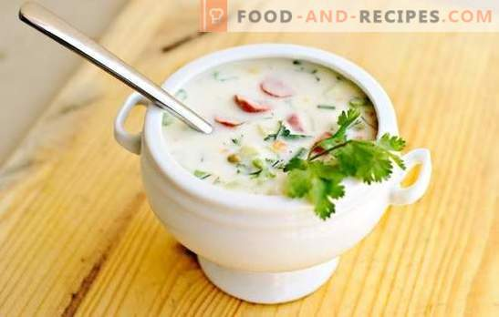 Okroshka classic on kefir - an opportunity to refresh yourself on a hot day. The best recipes okroshka classical kefir