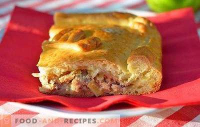 Fish cake made from yeast dough is a classic of Russian cuisine. Technology of cooking fish pies from yeast dough