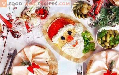 Christmas salads with prunes: 10 interesting ideas