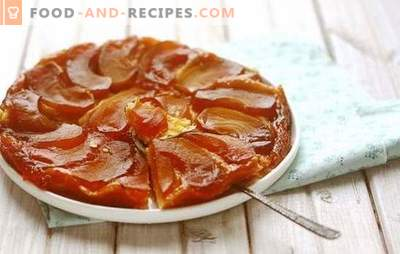 Tatin with apples - French Changeling! Classic and simplified recipes Taten with apples