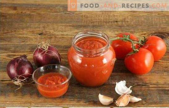 Tomatoes in a meat grinder for the winter is the best way to process the entire crop. The best recipes of tomatoes through the meat grinder for the winter