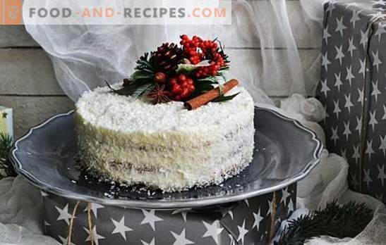 Coconut cake - heavenly delight! Different recipes of famous and new cakes with coconut chips for sweet teeth