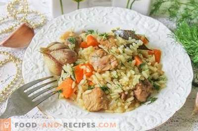 Eastern plov - original step-by-step recipe with photos