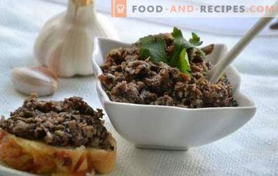 Caviar from mushrooms for the winter - surprise your friends and relatives. How to cook caviar from mushrooms for the winter