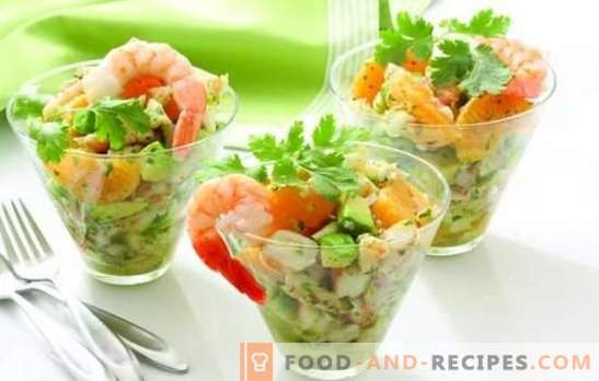 Light salads without mayonnaise: tasty, satisfying, new. The best recipes for light salads without mayonnaise with cheese, eggs, pita bread, cod liver